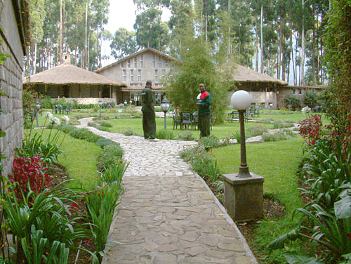 unser Hotel 'Mountains Gorillas Nest'
